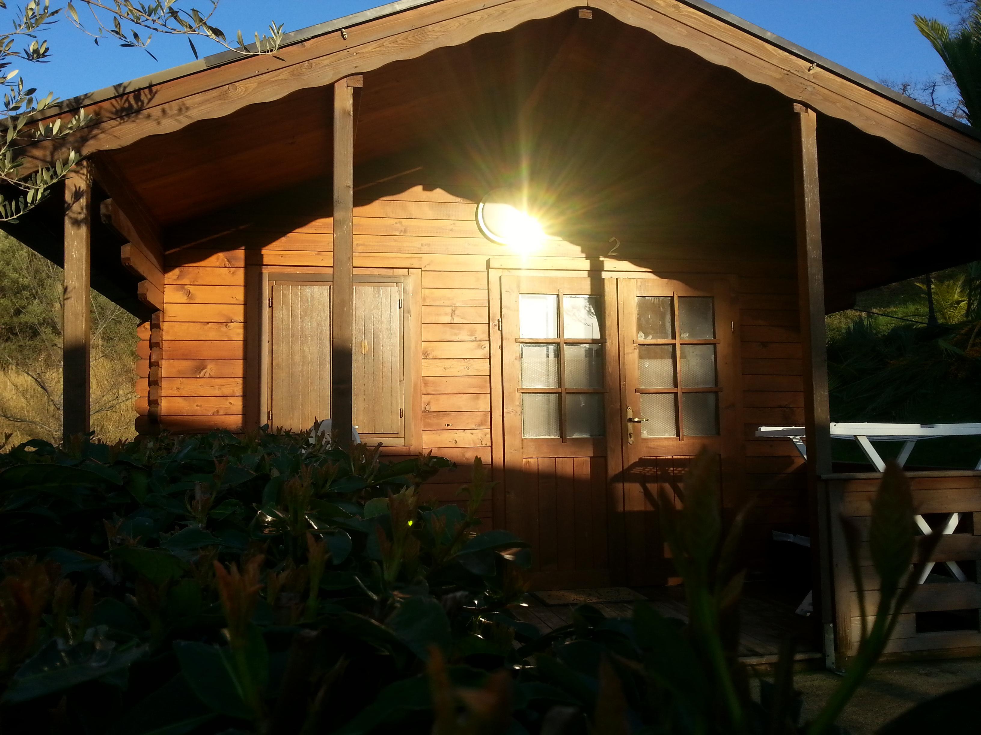 Agriturismo Casa Mia - casette di legno
